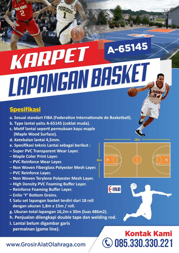 Jual Karpet Lapangan Basket Harga Grosir Pabrik