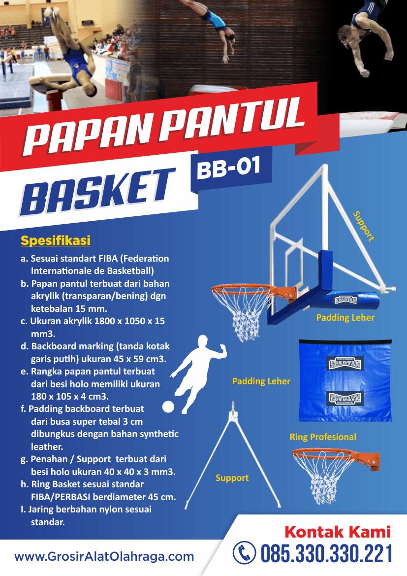Jual Papan Pantul Basket Harga Grosir Pabrik