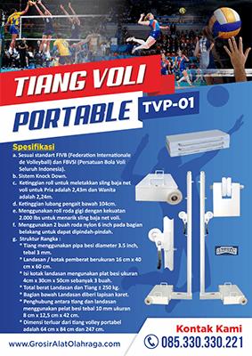 Jual Tiang Voli Portable Harga Grosir Pabrik