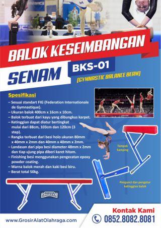 balok keseimbangan senam bks-01