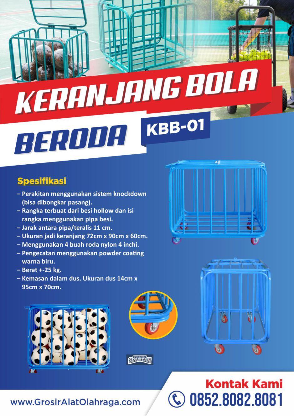 keranjang bola beroda kbb-01