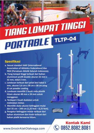 tiang lompat tinggi portable tltp 04