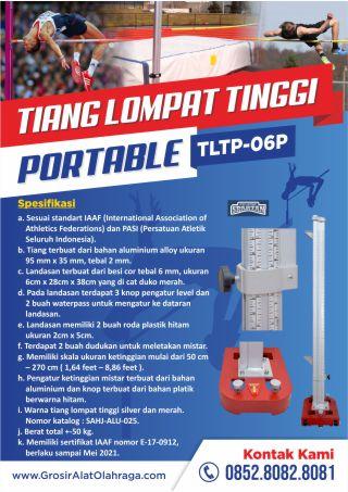 tiang lompat tinggi portable tltp 06p