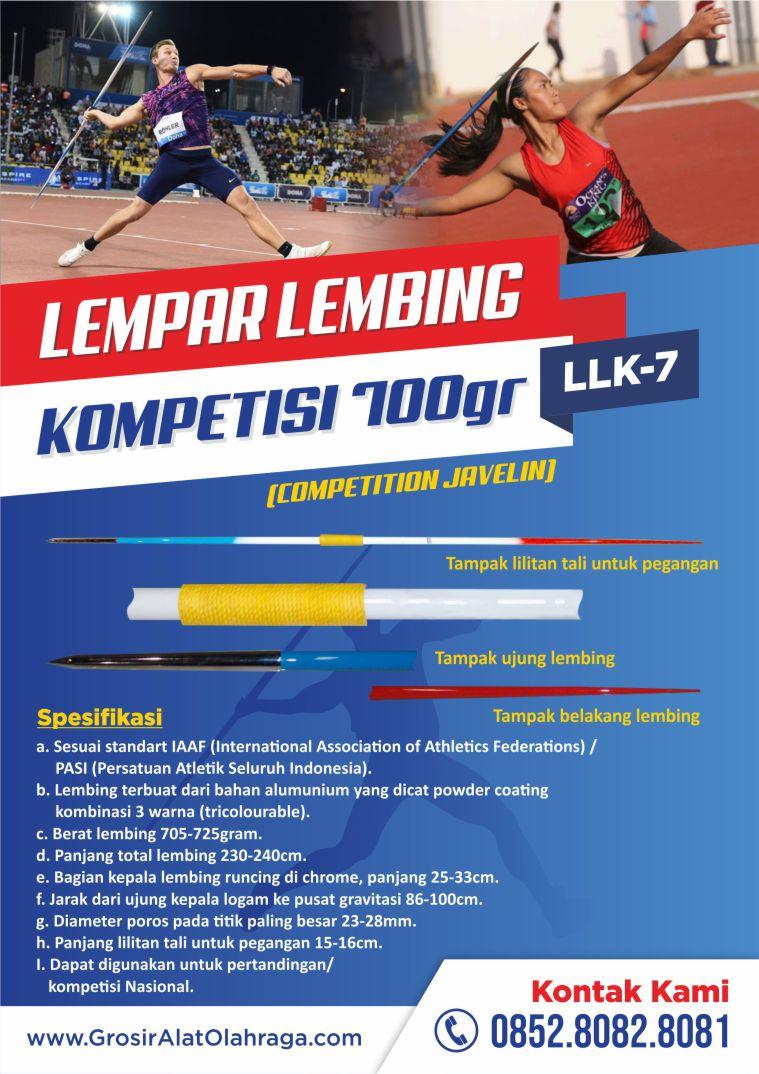 lempar lembing kompetisi llk-07