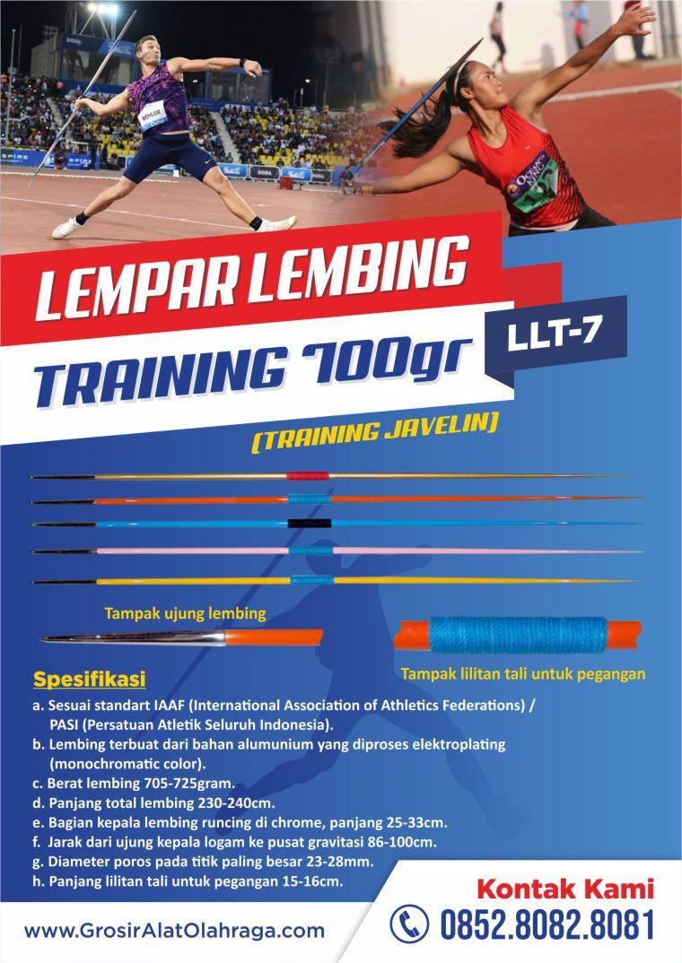 lempar lembing training llt-07